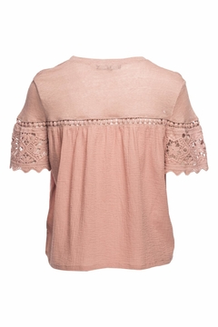 Generation Love  Fran Gauze Lace Top - Alternate List Image
