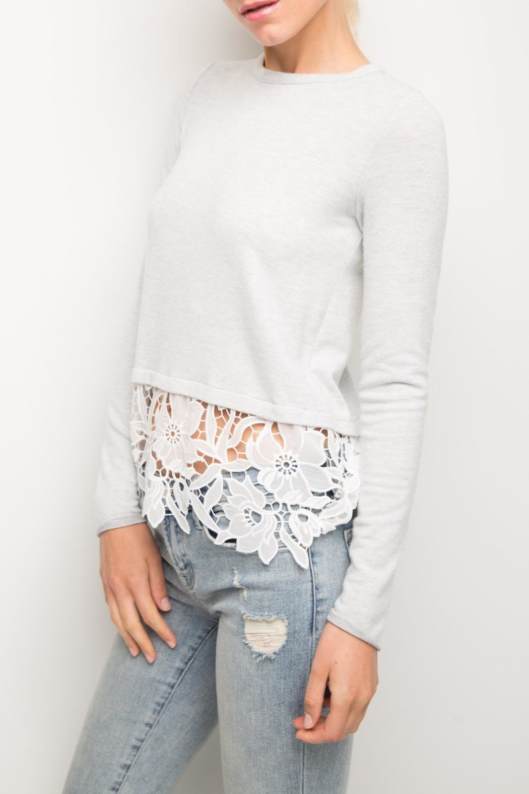 Generation Love  Kinsley Lace Top - Side Cropped Image