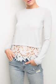 Generation Love  Kinsley Lace Top - Front cropped