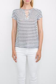 Shoptiques Product: Lace Up Tee