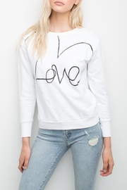 Generation Love  Love Cut-Out-Back Sweatshirt - Product Mini Image