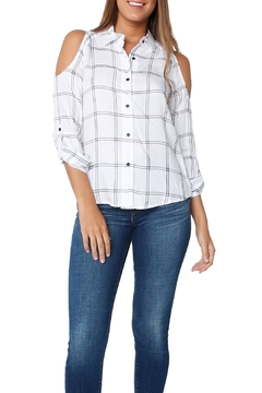Generation Love  Maisie Plaid Top - Product List Image