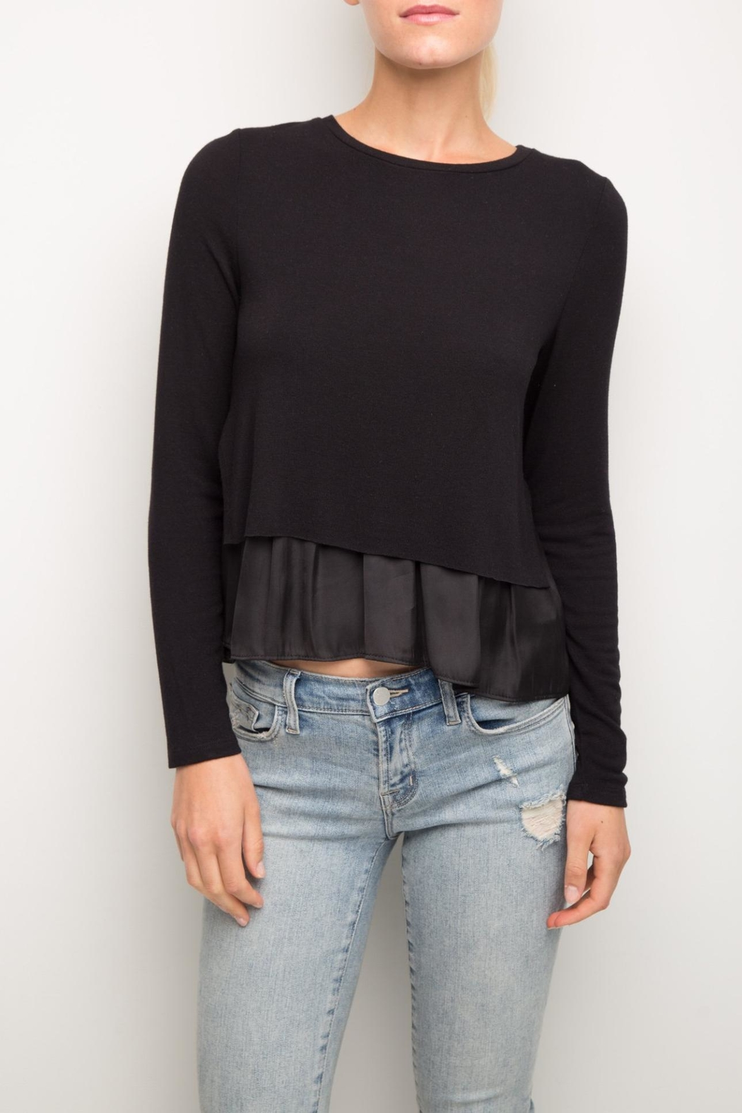 Generation Love  Perry Double-Layer Top - Front Cropped Image