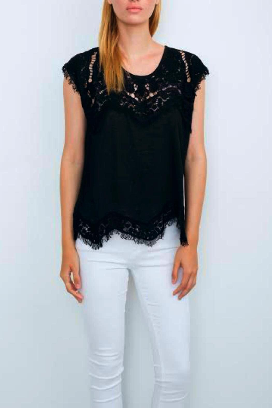 Generation Love  Reeves Lace Top - Main Image