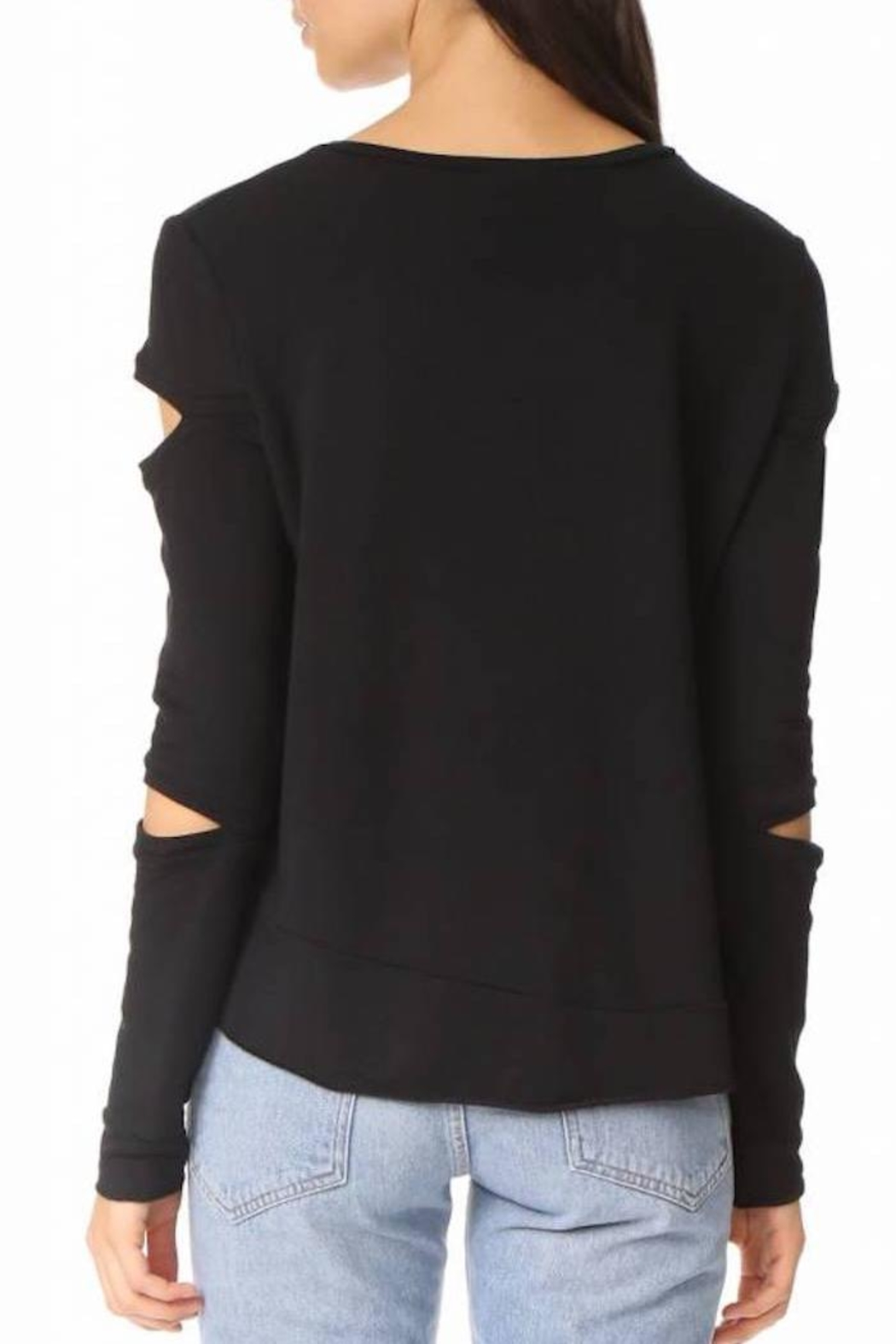 Generation Love  Regina Cut-Out Sweater - Side Cropped Image