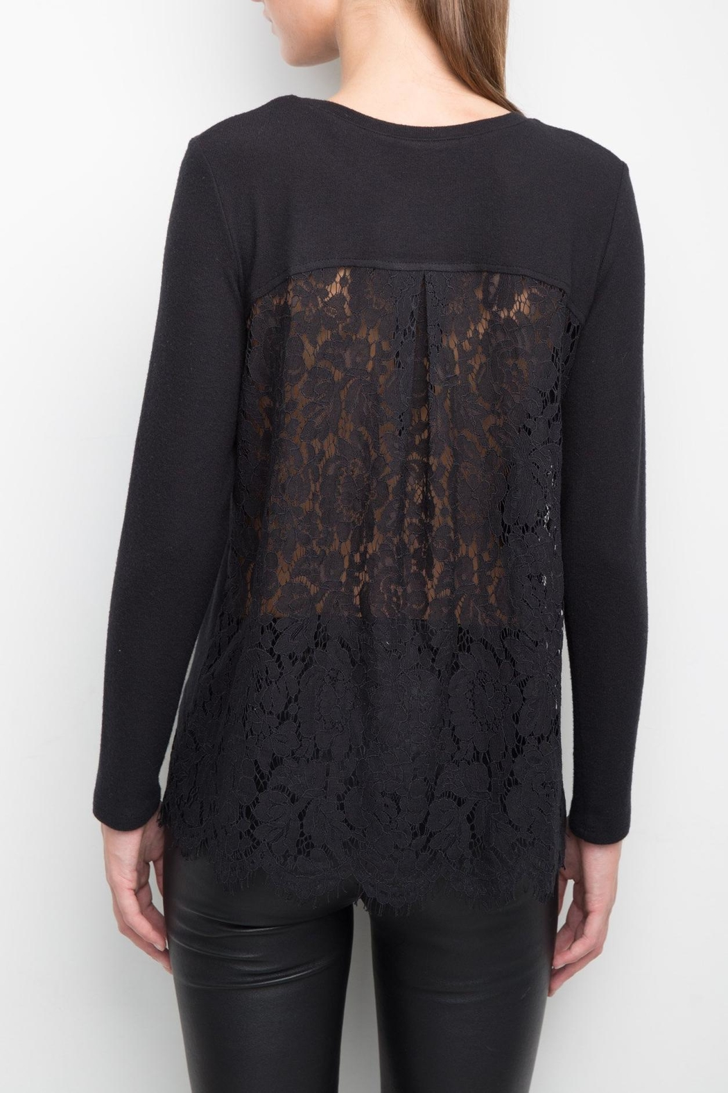 Generation Love  Riri Lace Back Top - Front Full Image
