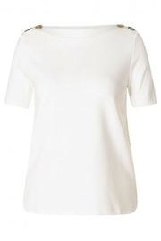 Yest  Genevie Button Shoulder Top - Product Mini Image
