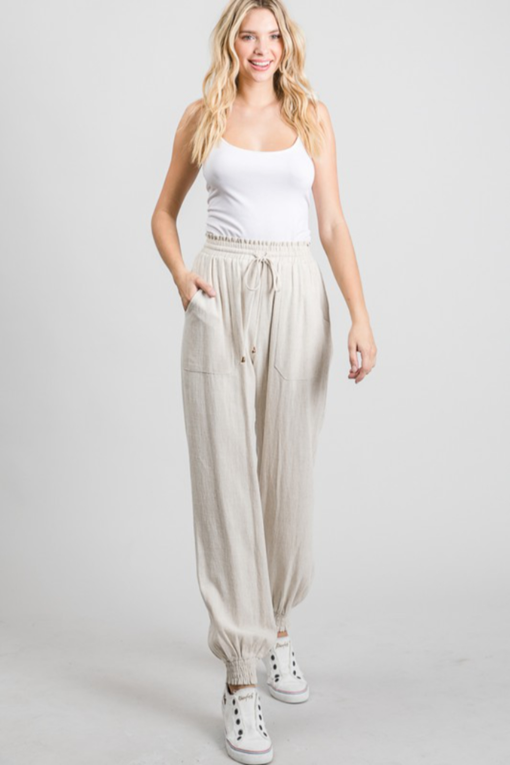 Allie Rose Genie Jogger - Front Cropped Image