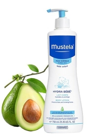 Mustela Gentle Cleansing Gel, Baby Hair and Body Wash, 25.35 Oz - Product Mini Image