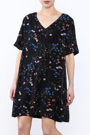 Gentle Fawn Black Oversized Floral Dress - Product Mini Image