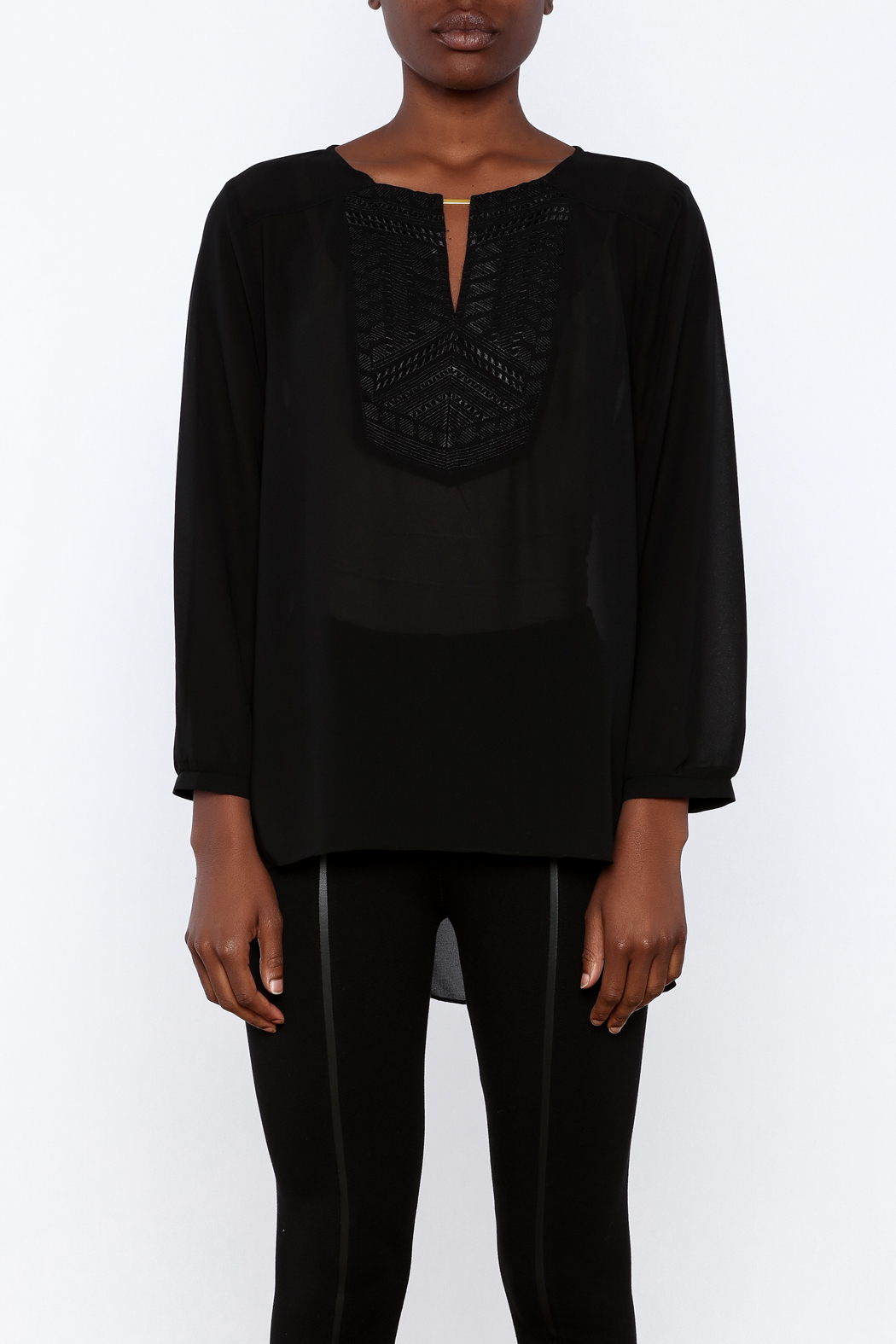 Gentle Fawn Bronze Bar Blouse - Side Cropped Image