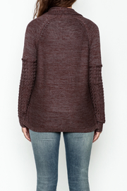 Gentle Fawn Classic Open Cardigan - Back cropped