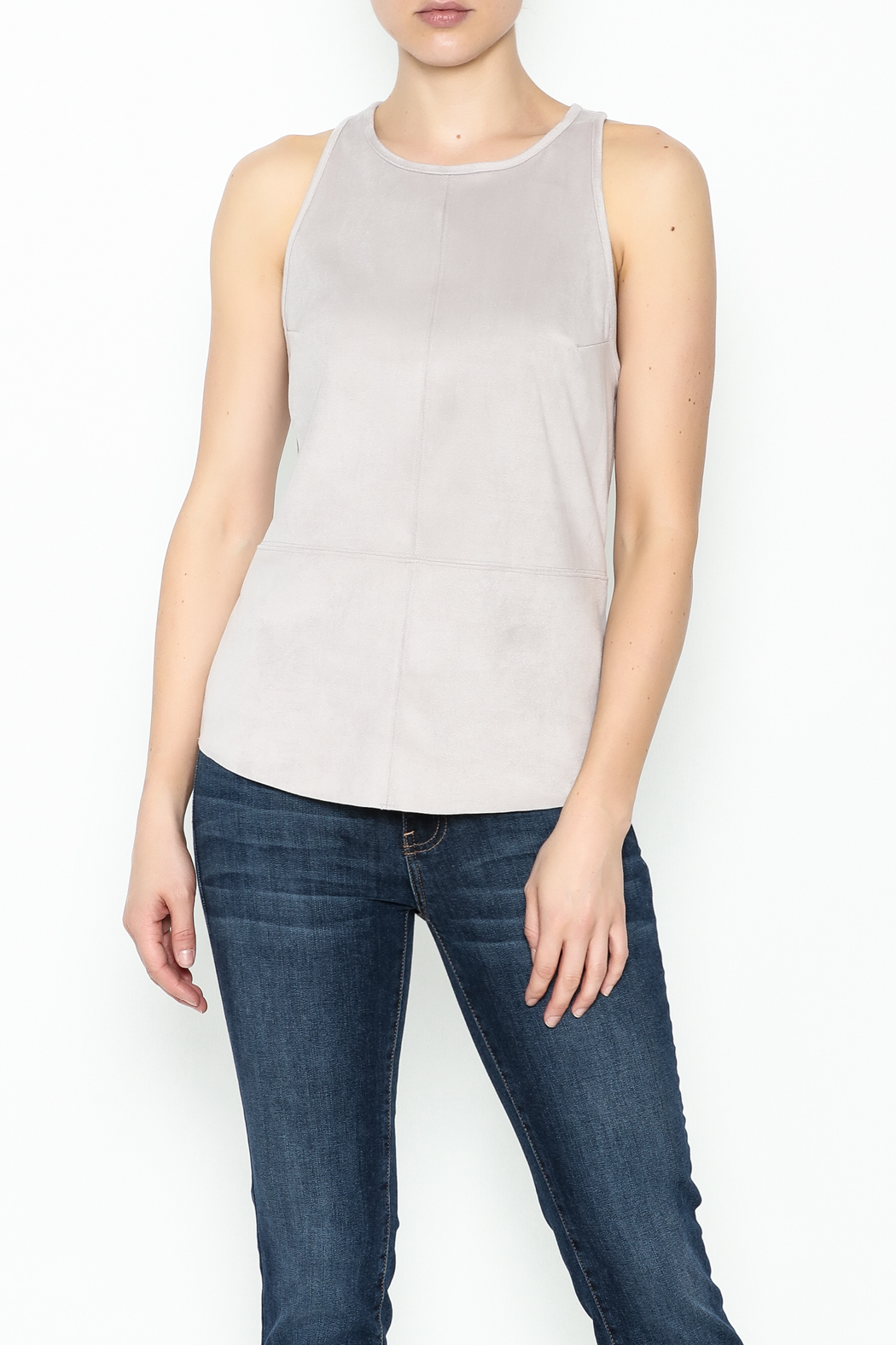 Gentle Fawn Faux Suede Top - Main Image