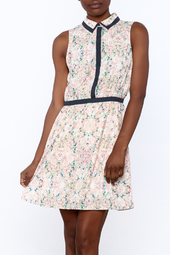 Gentle Fawn Floral Button Up Dress - Product List Image