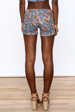 Gentle Fawn Floral Denim Shorts - Alternate List Image