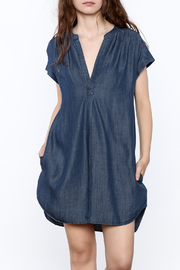 Gentle Fawn Denim Shift Dress - Product Mini Image