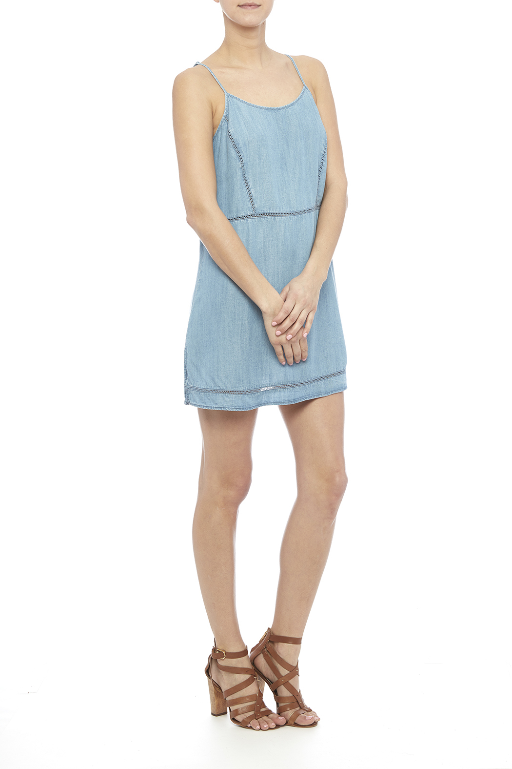 Gentle fawn maple chambray dress from germantown by on a for Chambray dress
