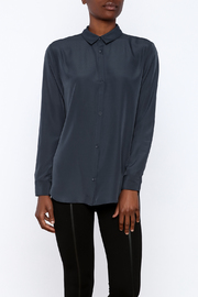 Gentle Fawn Navy Button Down - Product Mini Image