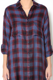 Gentle Fawn Plaid Shirt Dress - Other