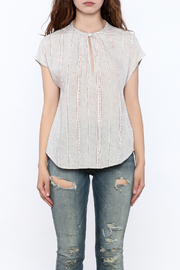 Gentle Fawn Grey Rowan Top - Side cropped