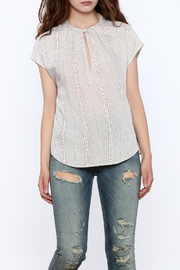 Gentle Fawn Grey Rowan Top - Front cropped