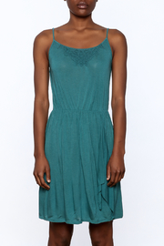 Gentle Fawn Teal Sleeveless Dress - Side cropped