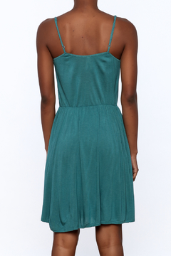 Gentle Fawn Teal Sleeveless Dress - Alternate List Image