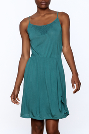 Gentle Fawn Teal Sleeveless Dress - Product Mini Image