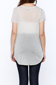Gentle Fawn Sheer Grey Tunic Top - Alternate List Image