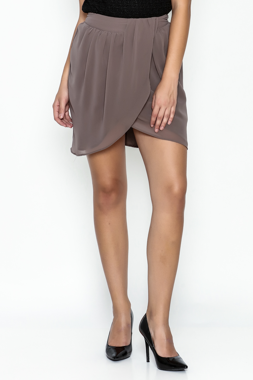 Gentle Fawn Tulip Front Skirt - Main Image