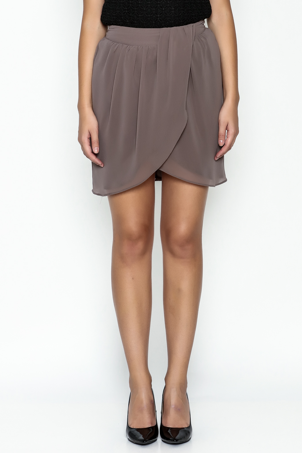 Gentle Fawn Tulip Front Skirt - Front Full Image