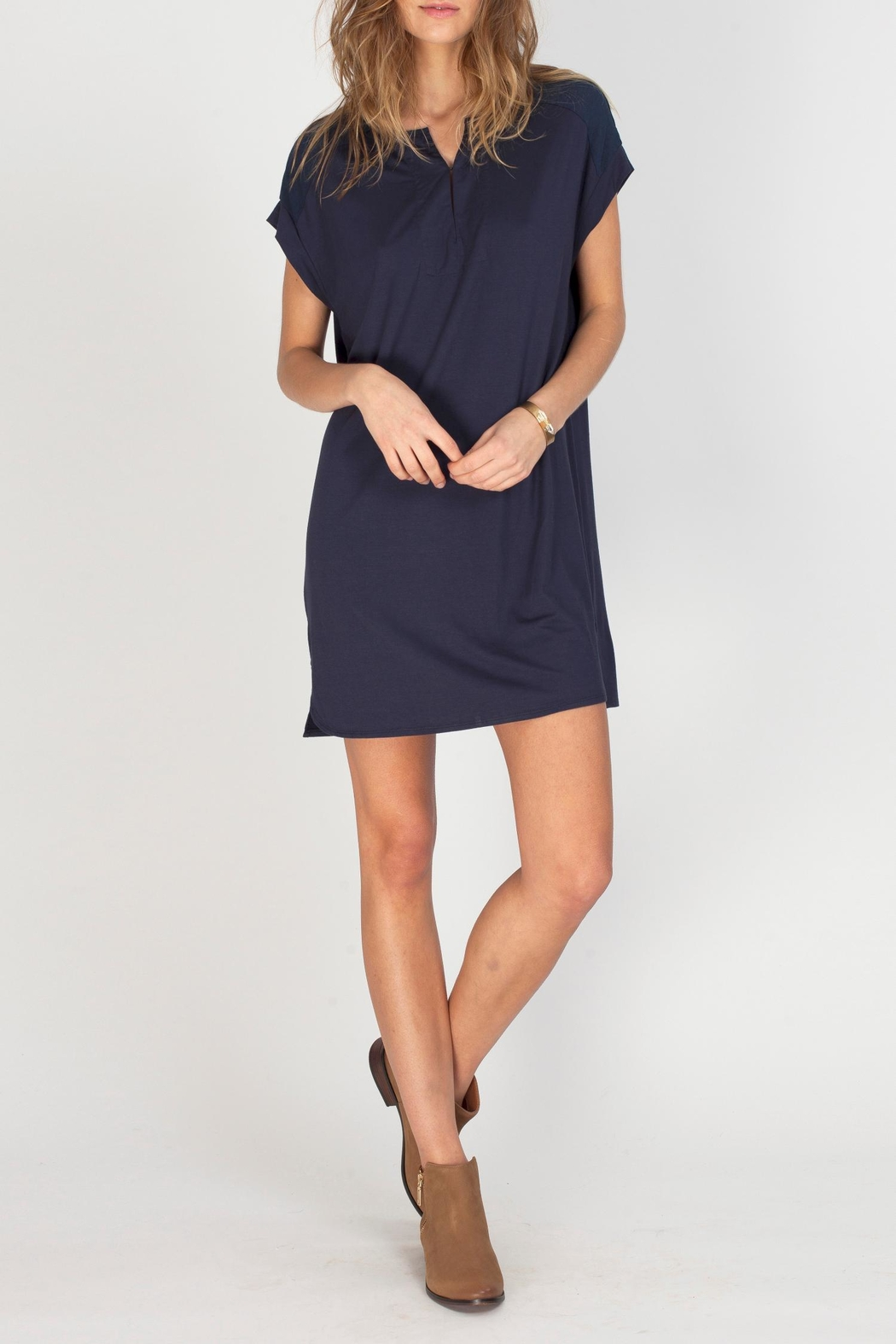 Gentle Fawn Atlas T-Shirt Dress - Front Cropped Image