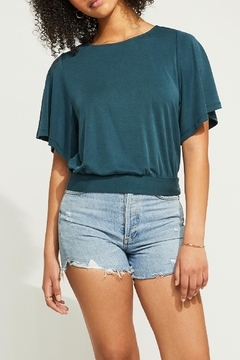 Gentle Fawn Back Twist Top - Product List Image