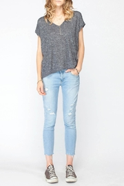 Gentle Fawn Grey Shades Basic Top - Product Mini Image