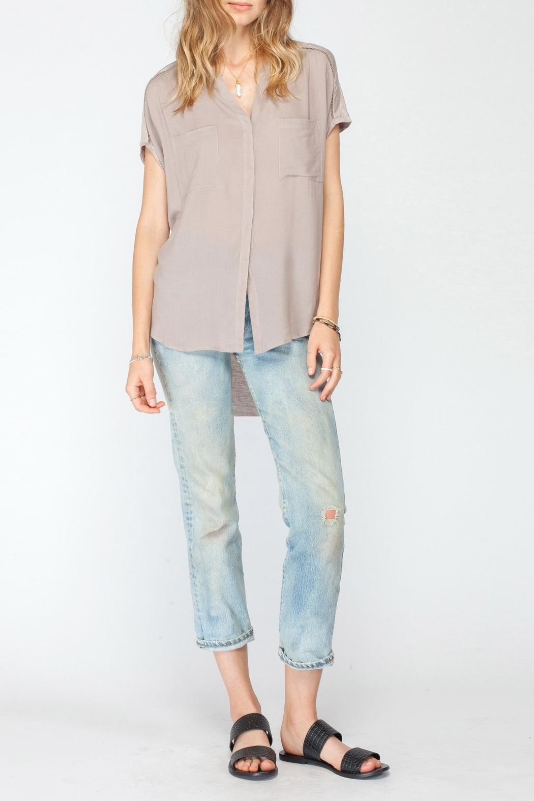 Gentle Fawn Beck Pocket Blouse - Main Image