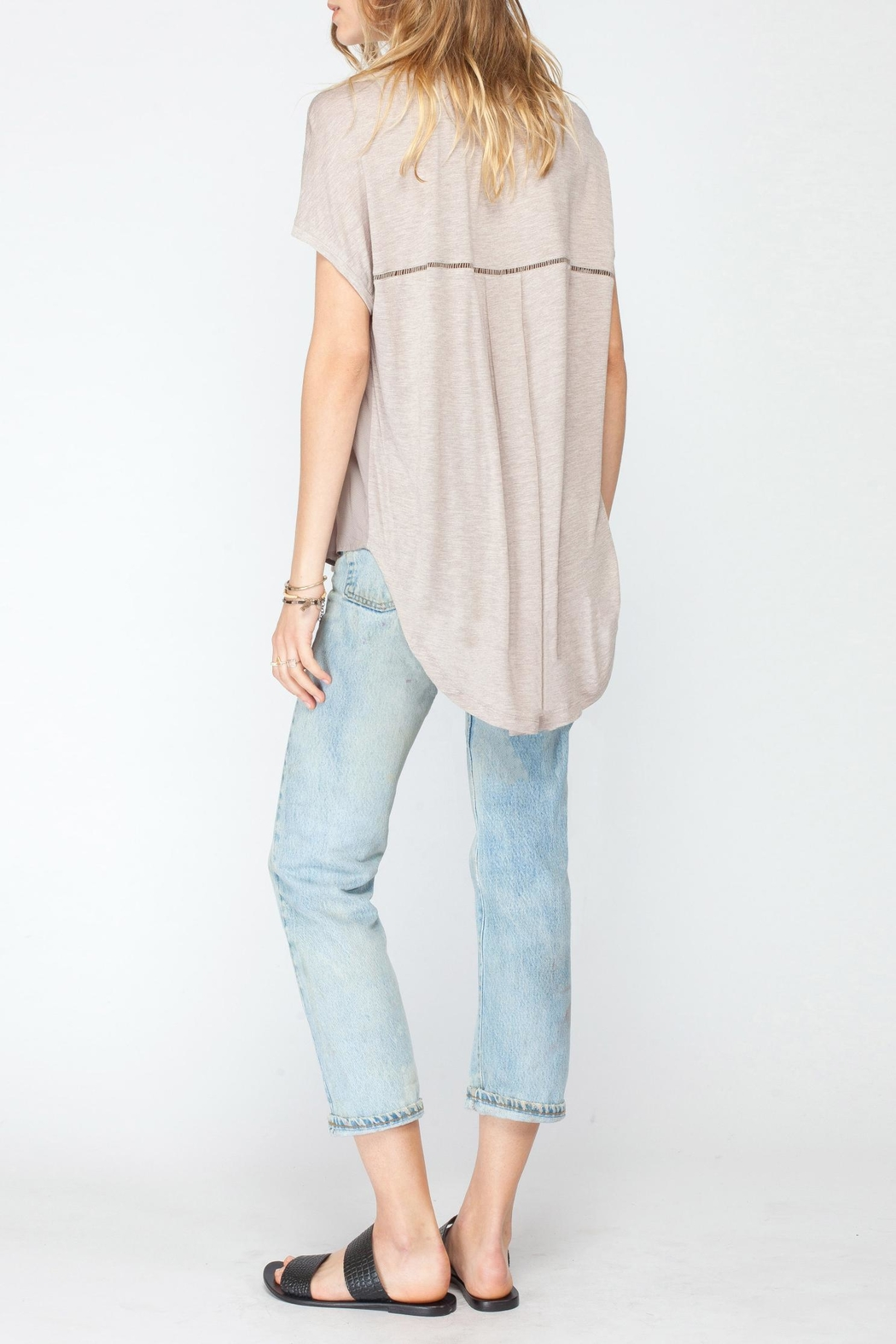 Gentle Fawn Beck Pocket Blouse - Front Full Image