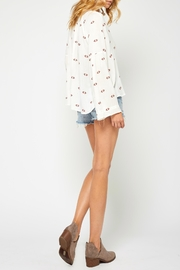 Gentle Fawn Bell Sleeve Blouse - Back cropped