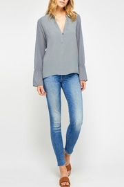 Gentle Fawn Bell Sleeve Blouse - Product Mini Image