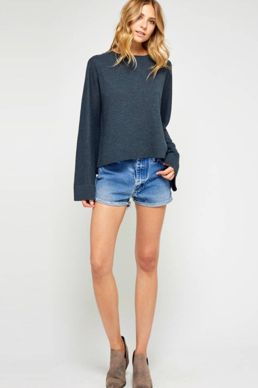 Gentle Fawn Bell Sleeve Sweater - Main Image