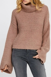 Gentle Fawn Bell Sleeve Sweater - Product Mini Image