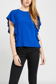 Gentle Fawn Blue Rosa Top - Product Mini Image
