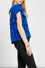 Gentle Fawn Blue Rosa Top - Side cropped