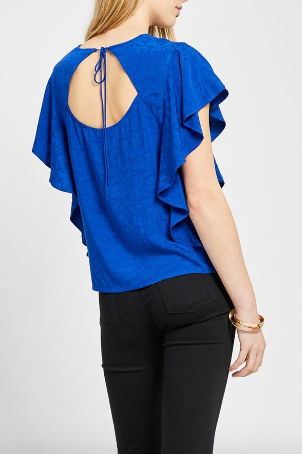 Gentle Fawn Blue Rosa Top - Front Full Image