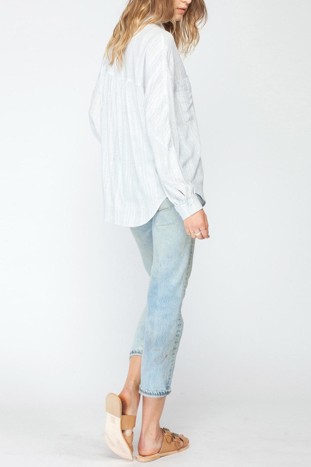 Gentle Fawn Calloway Print Blouse - Side Cropped Image