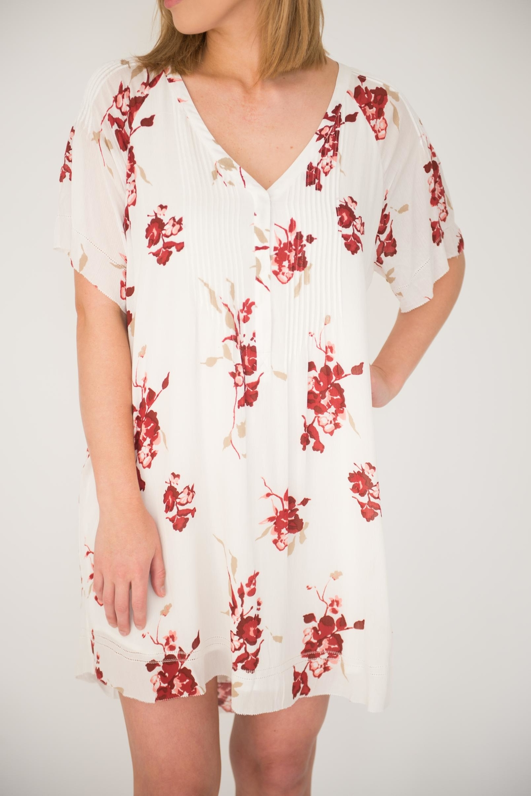 Gentle Fawn Caraway Floral Dress - Front Cropped Image