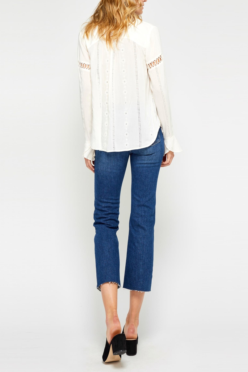 Gentle Fawn Carolyn Cream Blouse - Front Full Image
