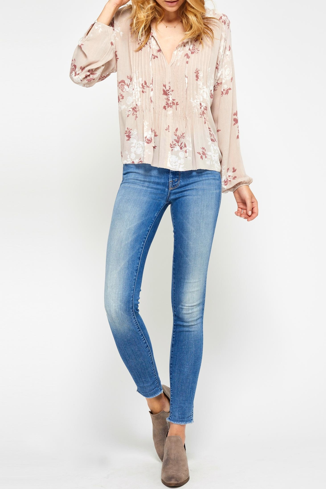 Gentle Fawn Cecilia Floral Blouse - Main Image