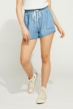 Gentle Fawn Chambray Shorts - Product List Image