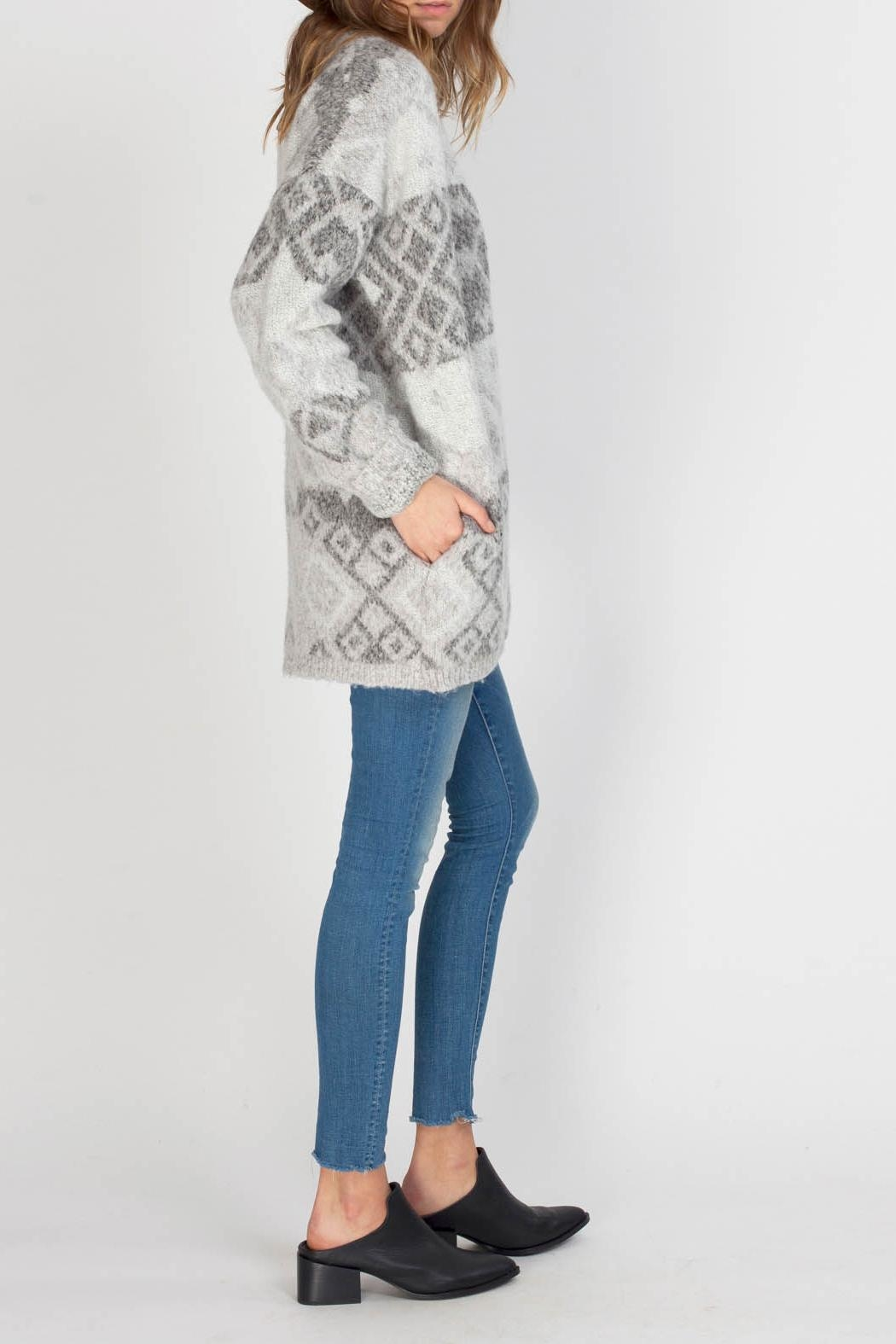 Gentle Fawn Cobalt Sweater Cardigan - Front Full Image