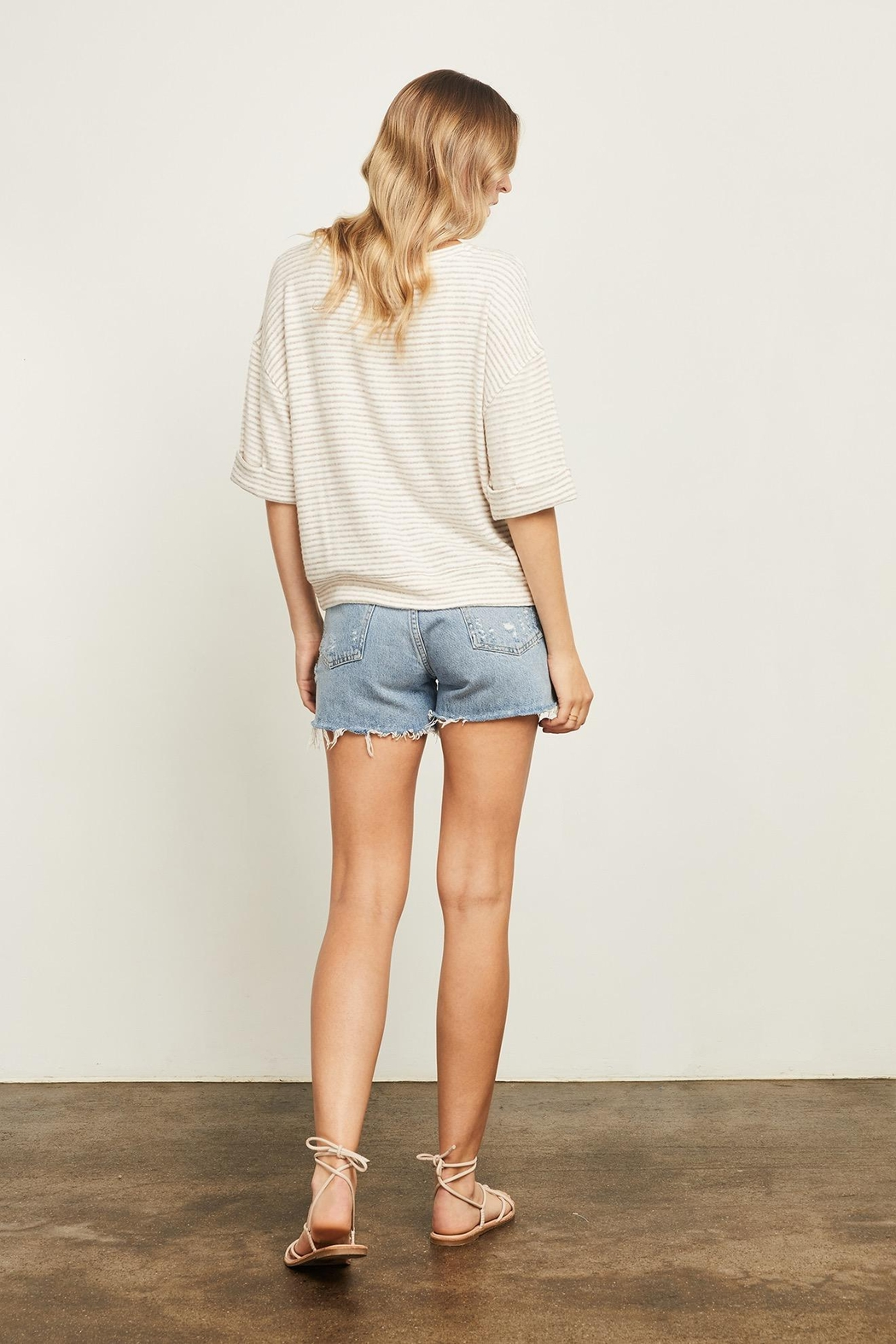 Gentle Fawn Collins Striped Sweater - Side Cropped Image